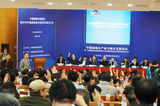 参会会员举手决议城乡统筹委第一届理事人选